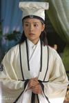 Zhu Yingtai in scholar's attire